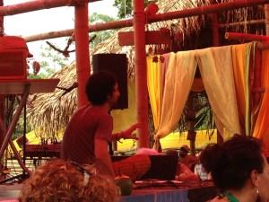 Ed Zaydelman hosting a workshop in the Tea Lounge