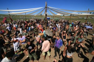 Earthcore Australia, 2007. A proper Bush Doof. The lineup for their 20th anniversary in December is outstanding - click image for details