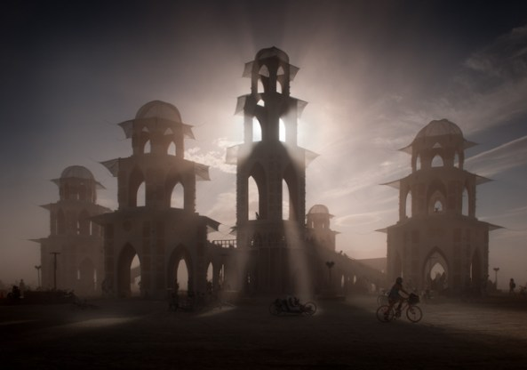 The Temple of Transition, Burning Man 2011 -- Photo by Peter Gordon