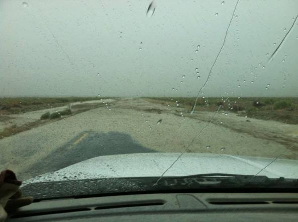 NV State Route 447 in June of this year -- PHOTO: Ralph Minnitte