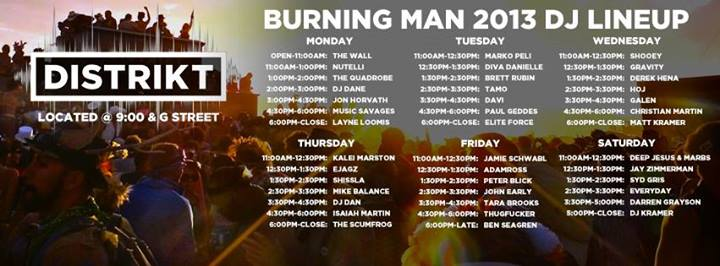 Latest 2013 Music Line-up [Updates] | Burners Me: Me