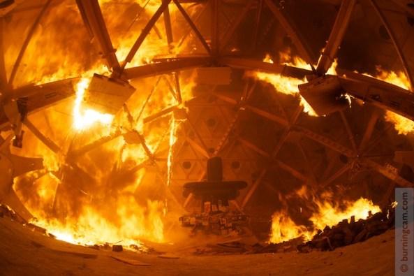 2013 temple burn inside