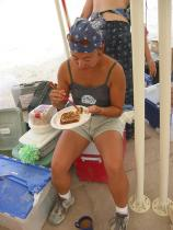 Burning Man 2003 - 475 200308311223 FrenchToastBreakfast Nory