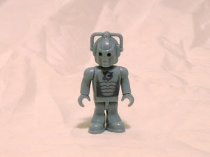 Dr Who's Cybermen - now in Lego