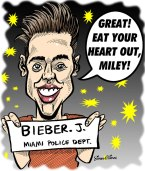 Cartoon-of-Justin-Bieber