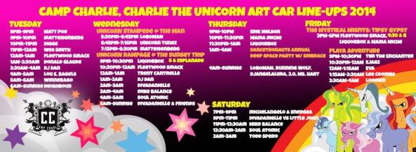 charlie unicorn 2014
