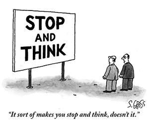 stop and think cartoon