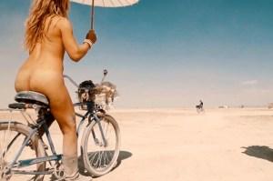 2014 ass on bike