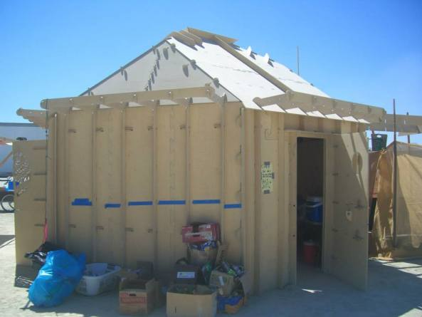 The Occidental Oasis Econopod, marketed at the Caravansary Souk with brochures and sales assistants collecting email addresses