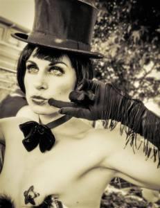 The enchanting chanteuse, Miss Emma Nation. photo: Facebook