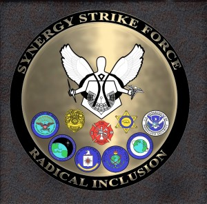 SYNERGY STRIKE FORCE BM LOGO
