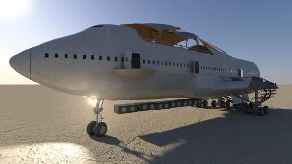 747 cad drawing