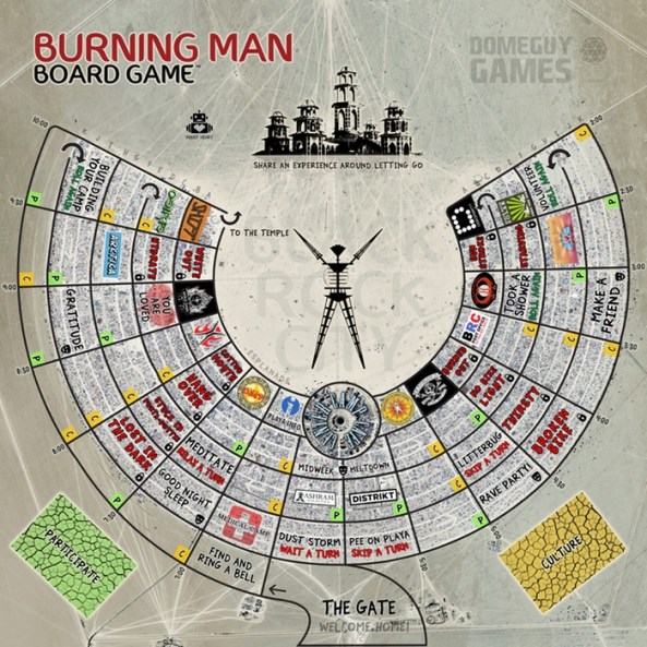 burning man board game
