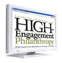 high engagement philanthropy