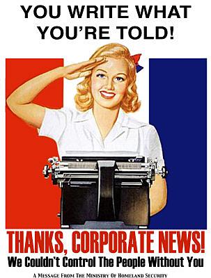 propaganda write what youre told
