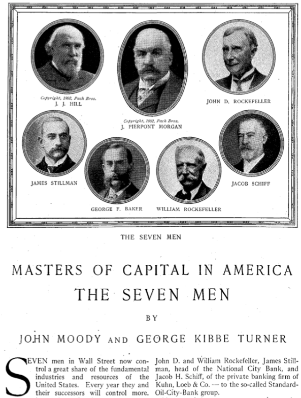 masters of capital seven men