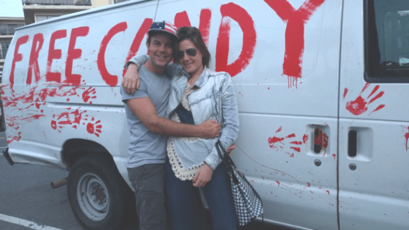 candy van and gf