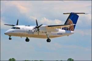Online pundits say the De Haviland Dash-8 is the new aircraft of choice. Image: simairline.net