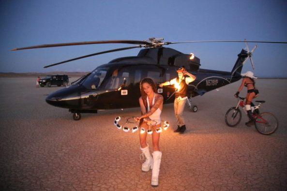 burner air express helicopter