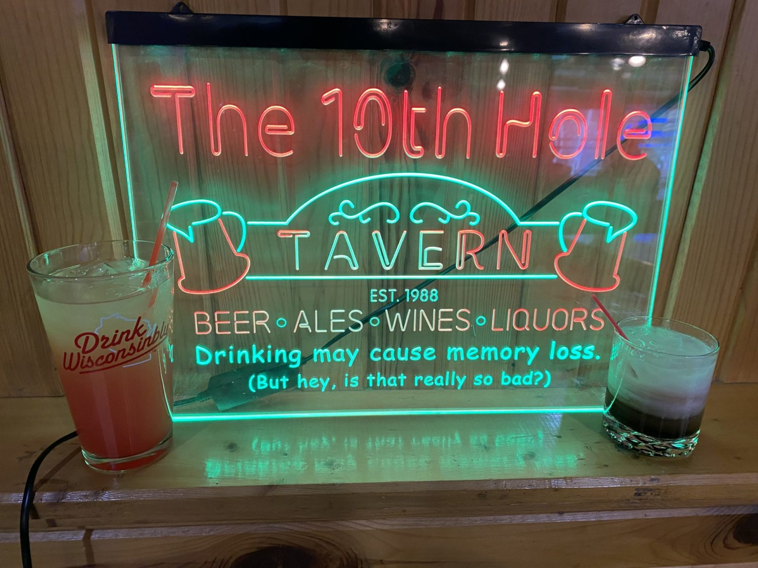 10th Hole, Burnett County Top 10, Best Cocktail