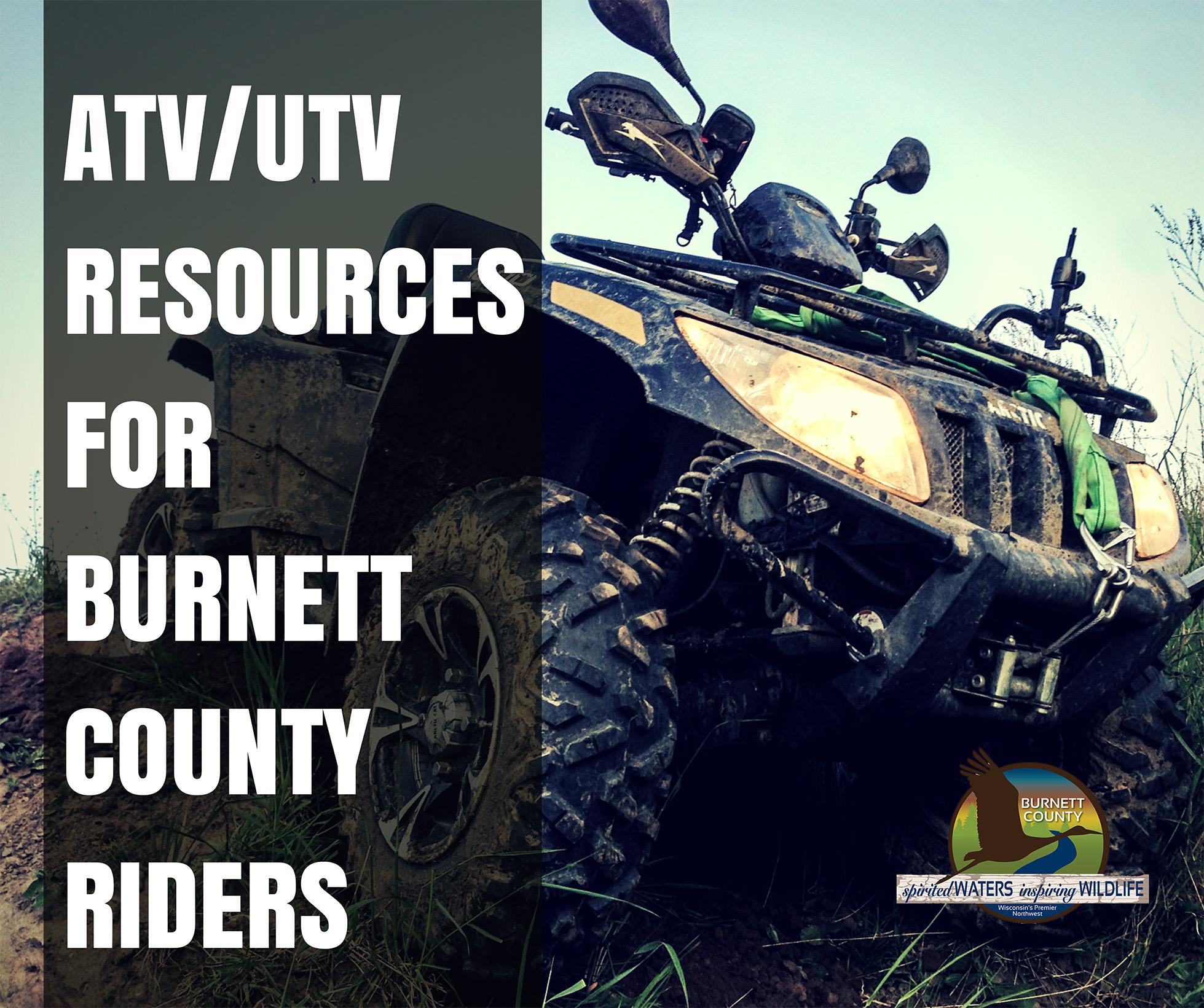 ATV RESOURCESFOR BURNETT COUNTY