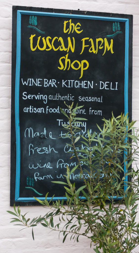 Wine Bar - Kitchen - Deli  Serving authentic seasonal artisan food and wine from Tuscany