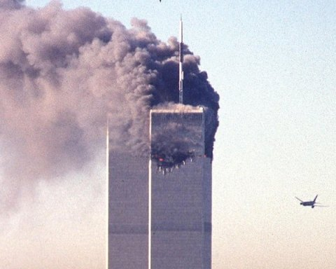 9/11 Plane hitting the twin towers
