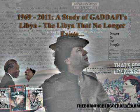 The Story of Gaddafi's Libya: essay