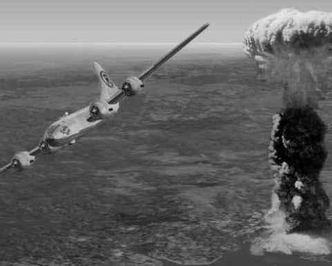 Hiroshima bomb, Enola Gay