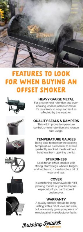 Don't miss these important offset smoker features when shopping for one