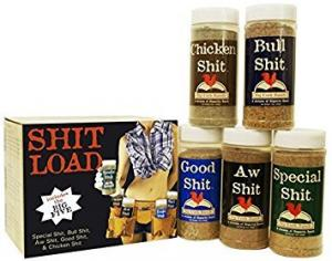 Get a shit load of great flavor with this 5 pack of seasoning