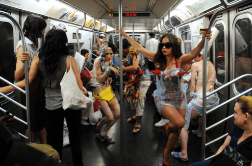 The LA Train will likely look like the inside of a party bus