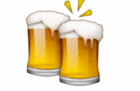 The beer emoji doesn't quite encompass a Bushwick hangover