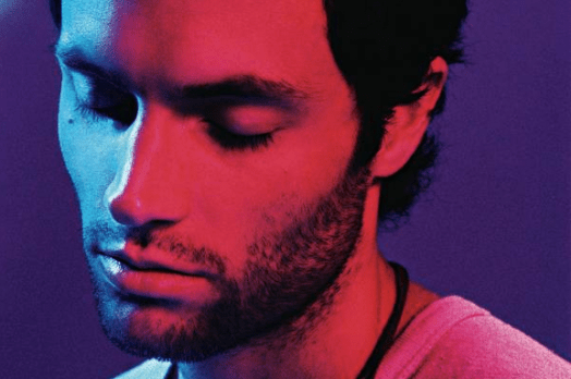 Penn Badgley on the verge of tears as the audience and management at Radio Bushwick ask him to leave