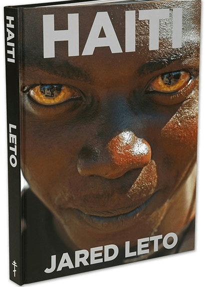 The cover of Leto's not so verbose book, which you'll get an unsigned copy of if you pay $950 to see him perform