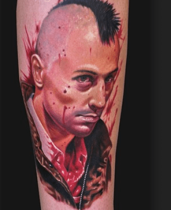 What would have been the Gulf War II veteran's tattoo