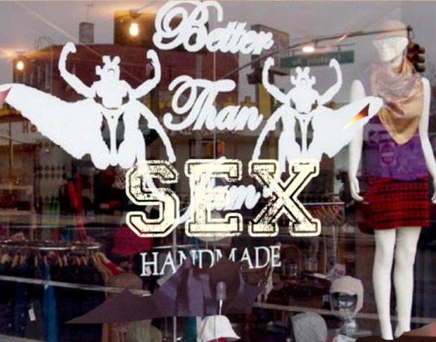 "New sign puts an emphasis on the word ""sex"""