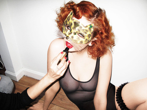 Bushwick party girl, Melina Frecklestein.