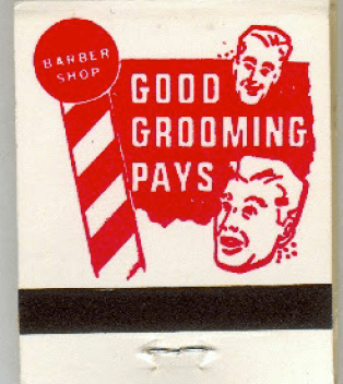 Matchbook used to light fire