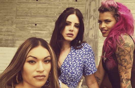 Thus far, Lana Del Rey has been the only white woman accepted by the chola community