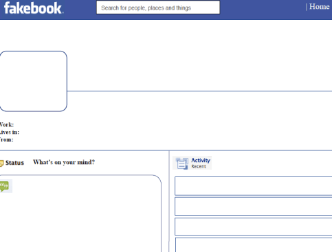 Facebook has transformed into Fakebook, considering you can buy and sell information from it