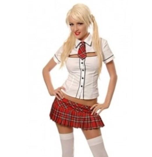 The schoolgirl fetish