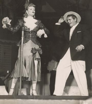 Lucy & Ricky: vaudevillians in the mainstream