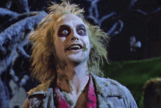 Beetlejuice, who actually just looks a lot like every other guy in Bushwick