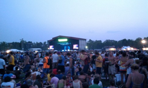 What Stage just before The Black Keys