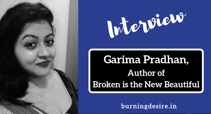 Author Garima Pradhan interview