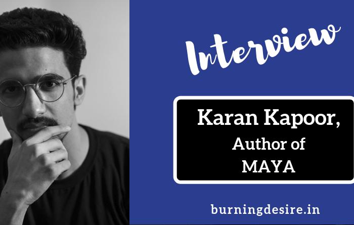 Author Karan Kapoor Interview
