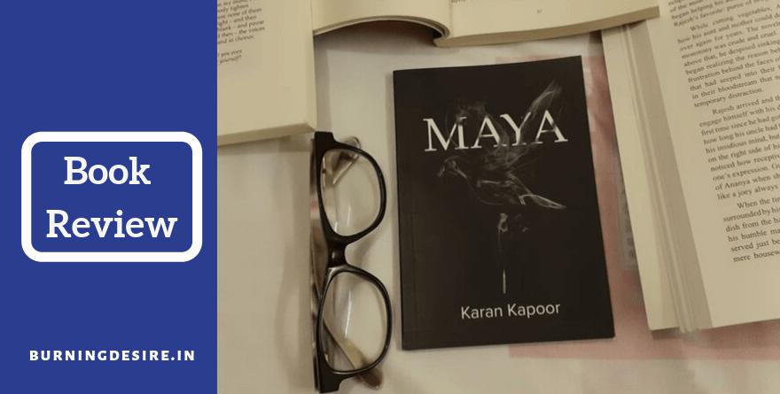 Maya book by Karan Kapoor