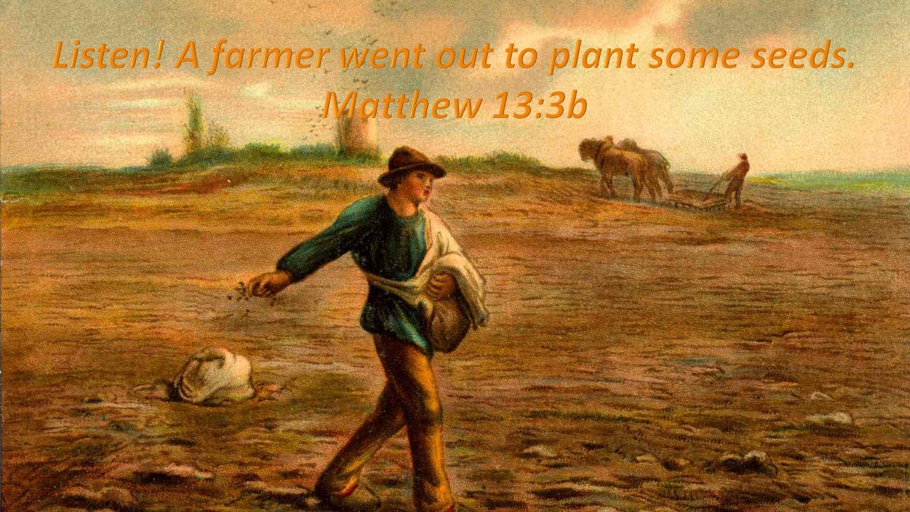Sowing Seeds Begins With Prayer