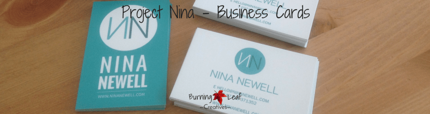 Project Nina - Business cards